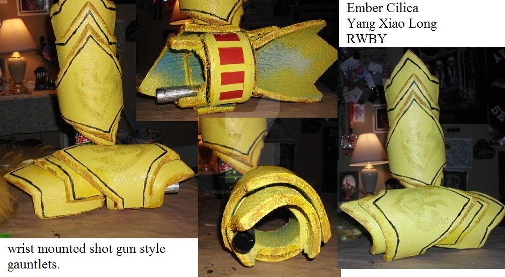 Yang's gauntlets by Skeri-Nightmare