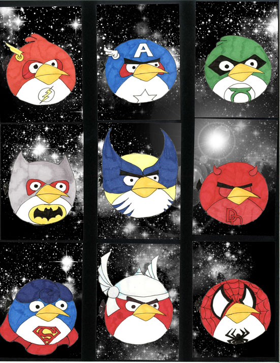 DC Heroes - Angry Birds by Ectopy on DeviantArt