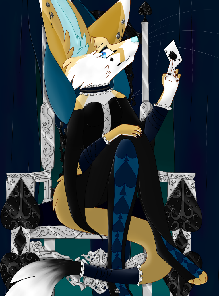 Queen of Spades by Spirit-Of-Stella