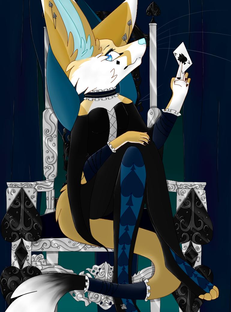 Queen of Spades by Spirit-Of-Stella