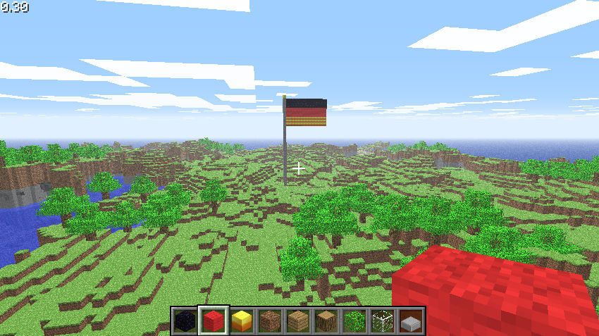 Minecraft German Flag By Ashriver7710 On Deviantart