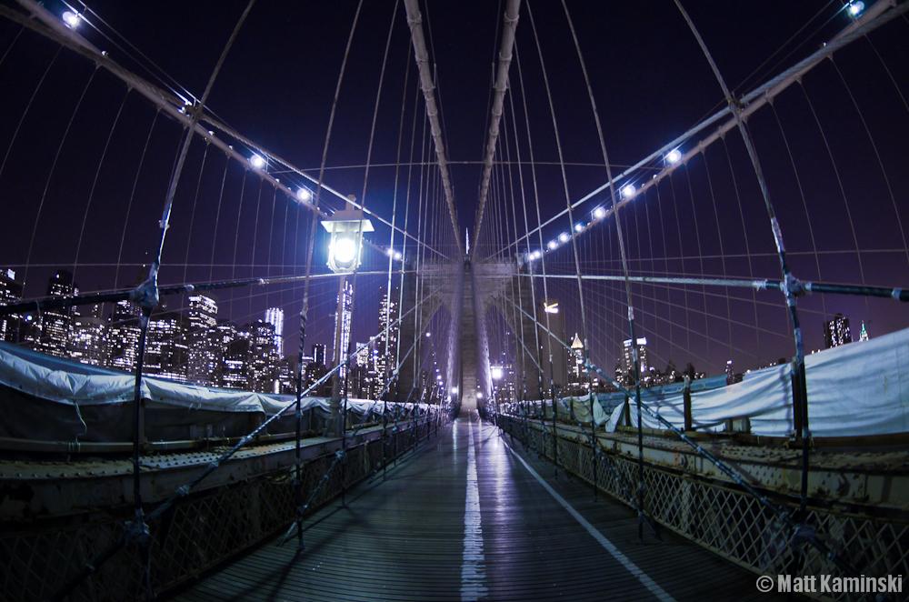 Brooklyn Bridge Fishy Web by MJKam11
