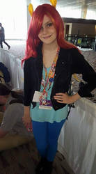 BronyCon 2016: Sunset Shimmer Cosplay