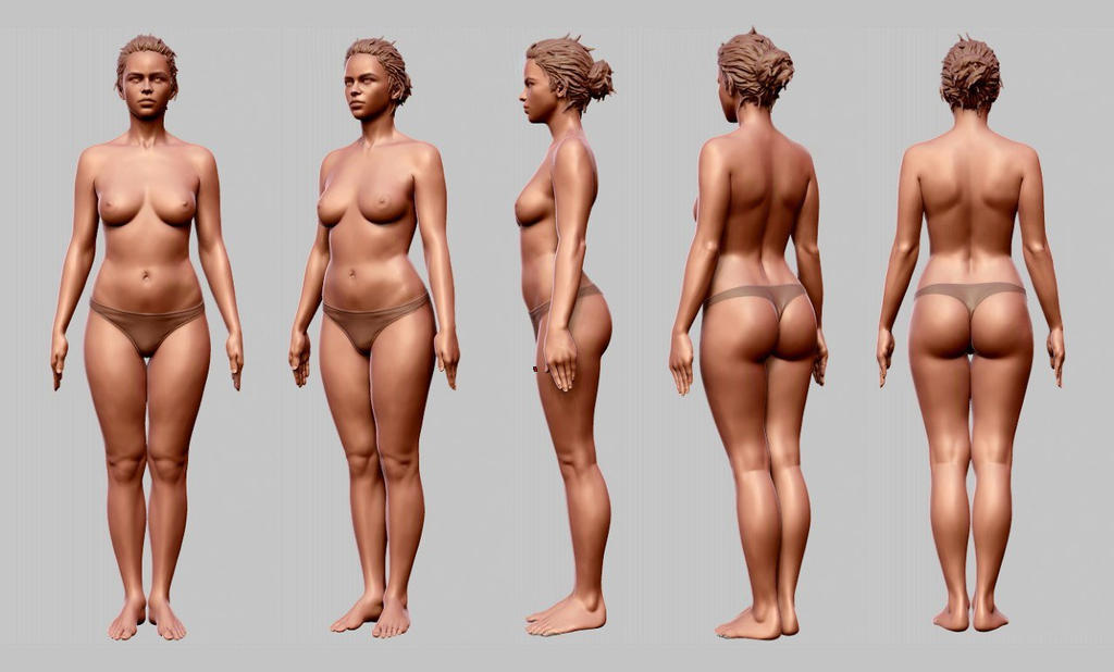 Female Body Works In Progress Blender Artists Community Assoass 1