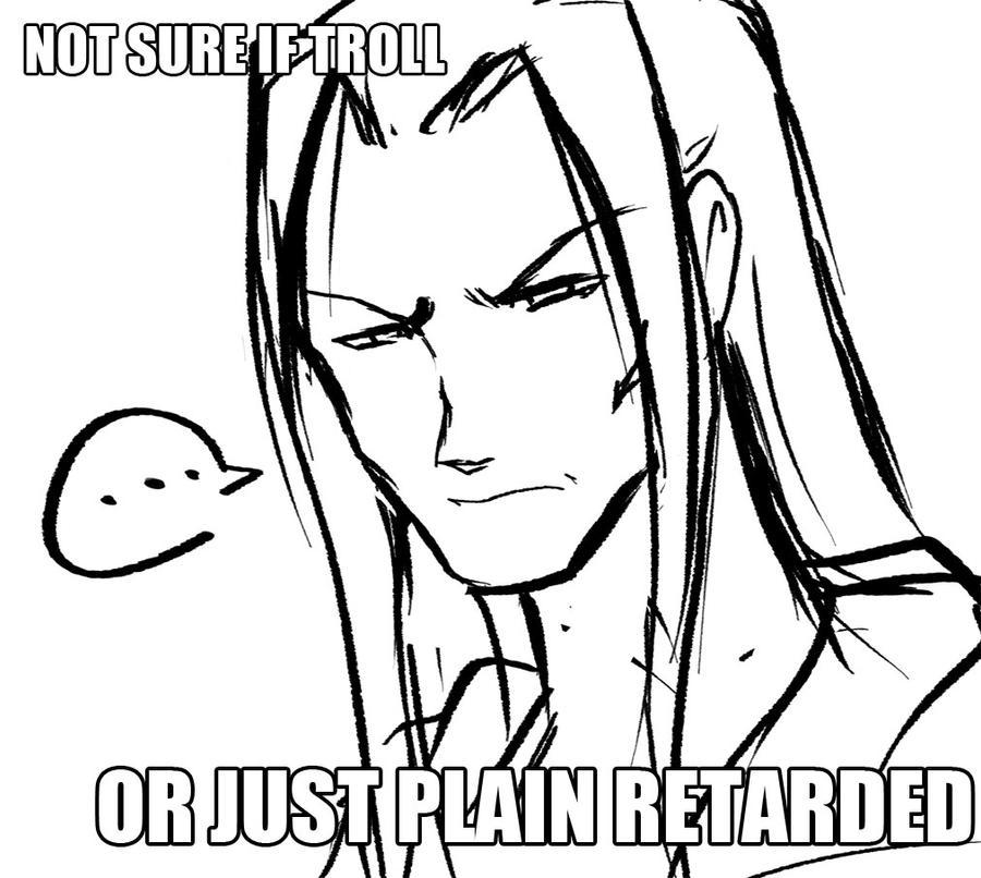 Not Sure if Troll.. by arjuu-na