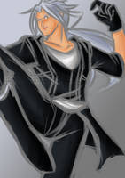 If Xemnas was in the DBZ World... by arjuu-na