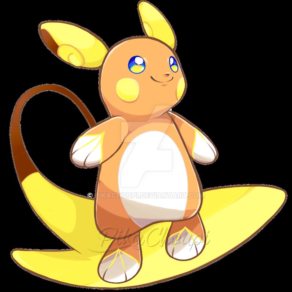 Pokemon Alolan Raichu Images