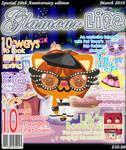 Kyon-chan on the Magazine.