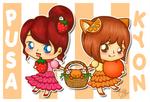 Pusa and Kyon-chan