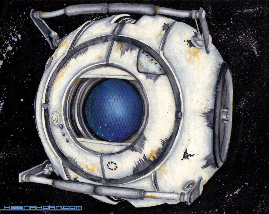 Wheatley in Space! by keenakorn