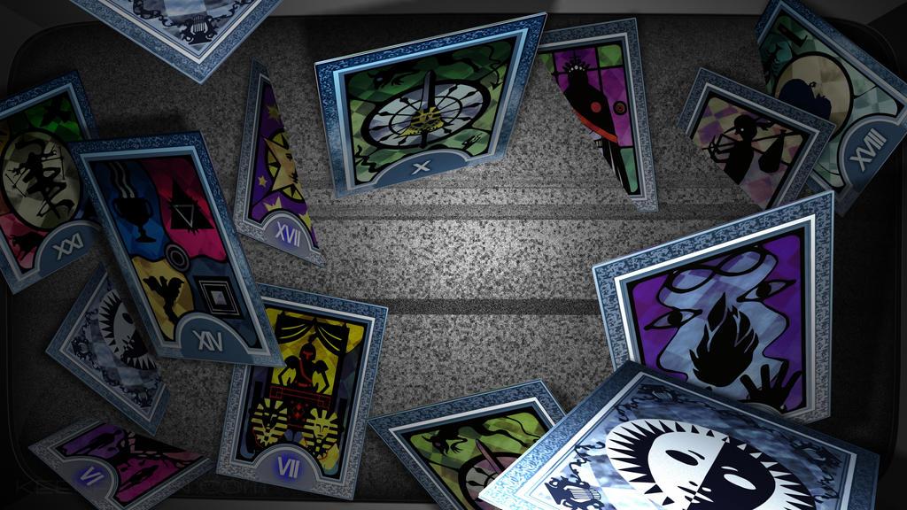 Persona Tarot Cards by keenakorn