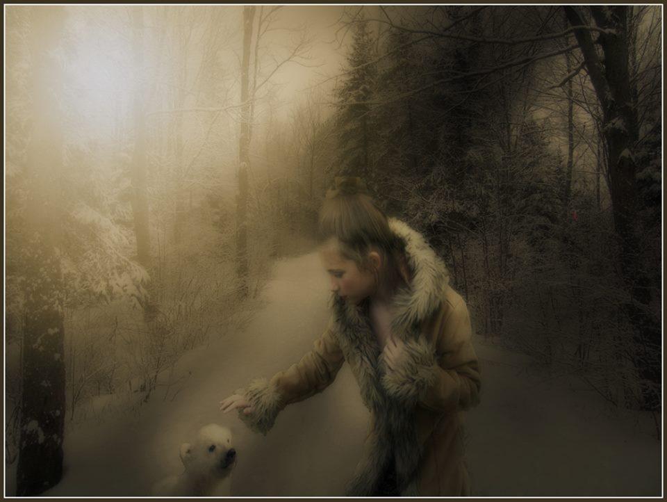 Winter Frienship by MoonGazer9