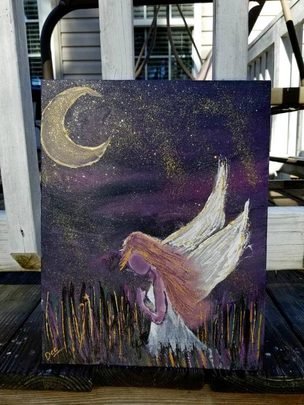 Night Angel  by MoonGazer9