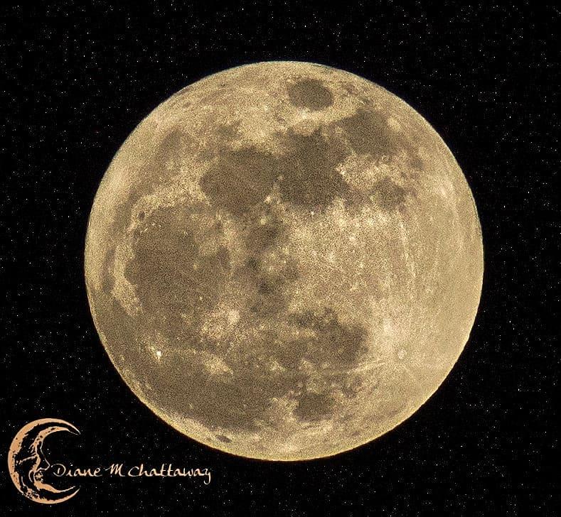 Jan 1st 2018 Moon - by MoonGazer9