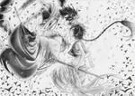 Aladdin and Judal - Magi: The labyrinth of magic by Sara9494
