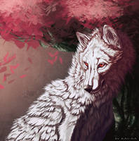 White Wolf by Kay-Ra