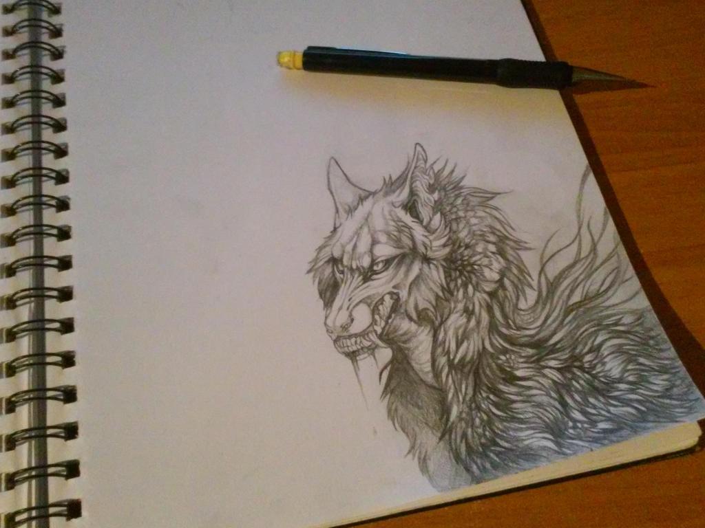 Sketch by Kay-Ra