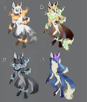 Fox adoptable 02 -OPEN- by Kay-Ra