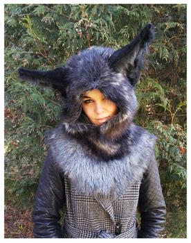 Fox hood -SOLD-