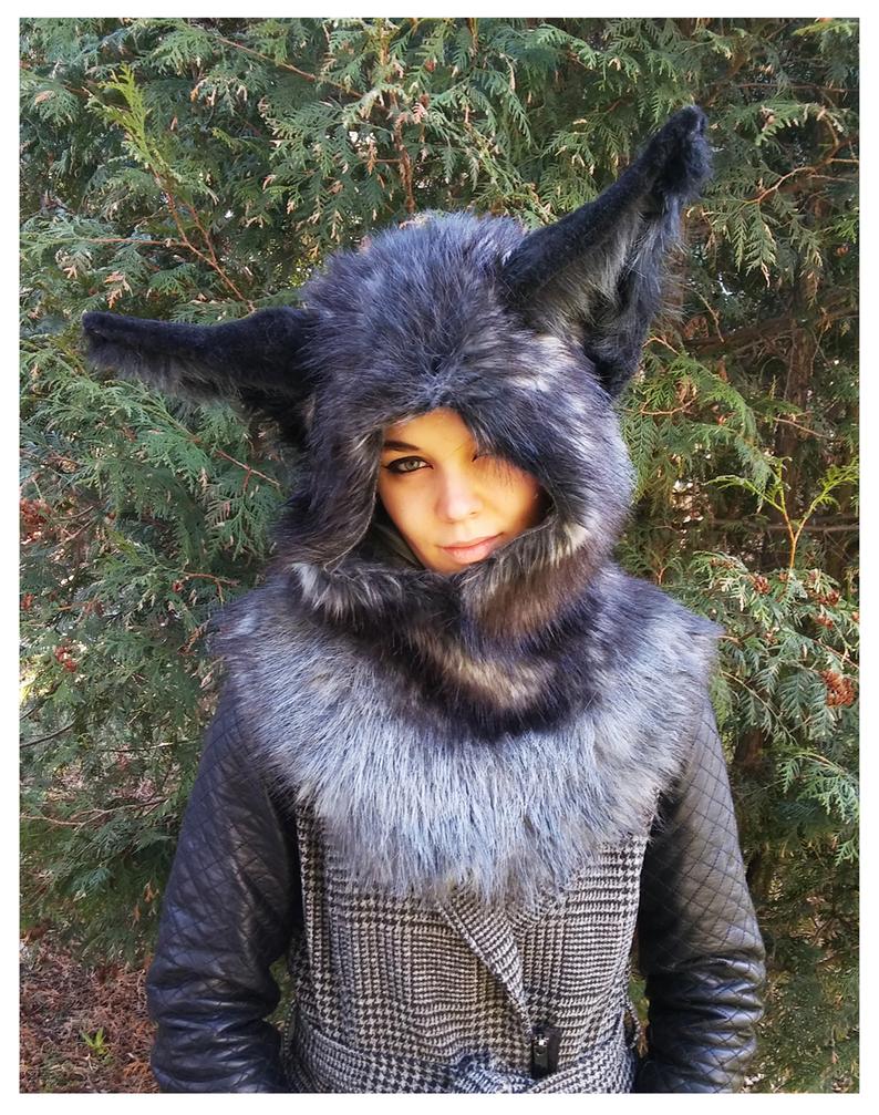 Fox hood -SOLD- by Kay-Ra