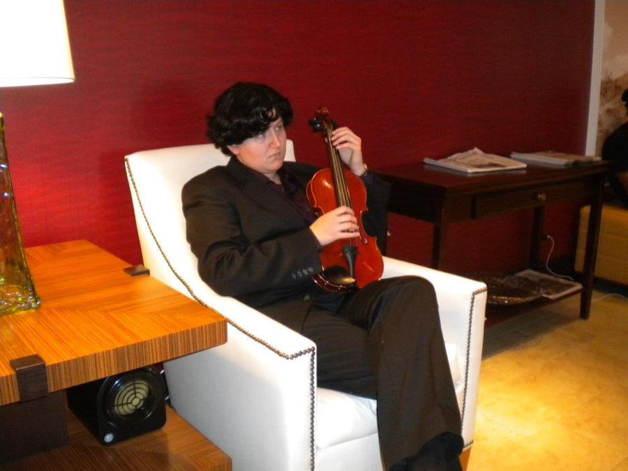 Sherlock - The Violin by Mama-Austria
