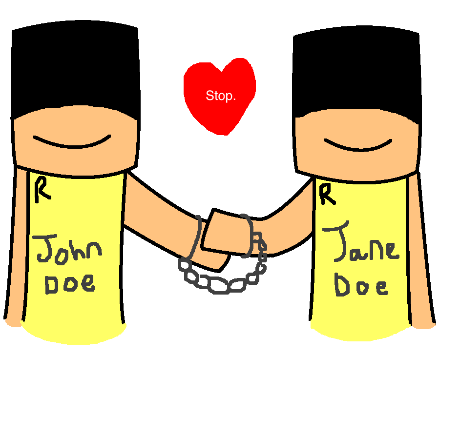 RBLX Myths Project: John Doe and Jane Doe by SpoopyGootTJS