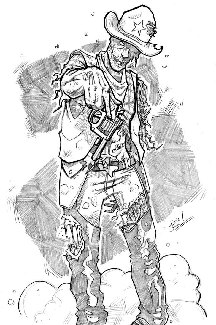 Zombie gunfighter commission by ericgravel on deviantart - Gunfighter wallpaper ...