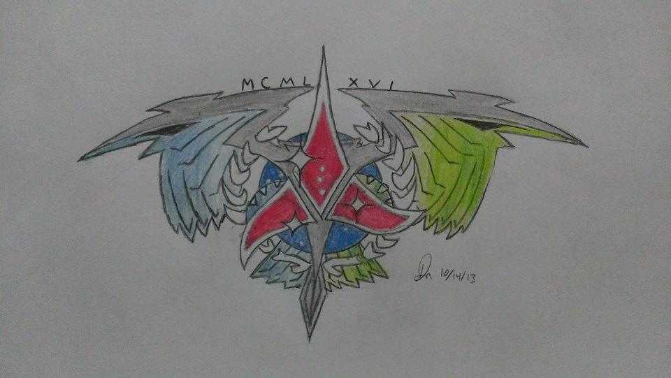 Klingon Romulan Federation symbol mix. by drmadman1333 on ...