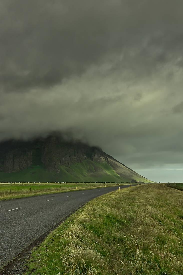 Long road to Eyjafjallajoekull