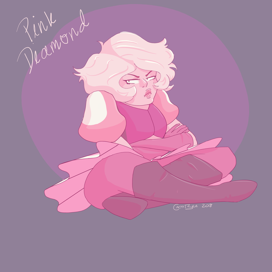 Wow! Our glorious Pink Diamond was finally revealed and I am stoked!