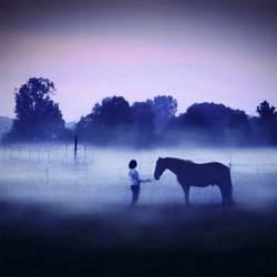 Surreal meeting by Julie-de-Waroquier