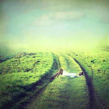The road by Julie-de-Waroquier