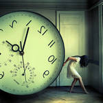 The weight of time by Julie-de-Waroquier