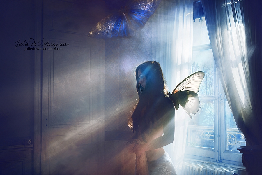 Wings of melancholia by Julie-de-Waroquier