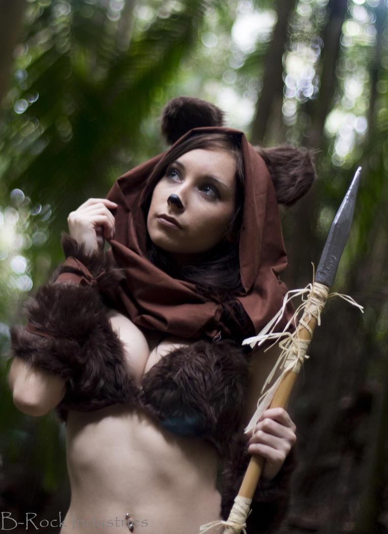 Star wars ewok cosplay by hurutotheguru on deviantart - Ewok wallpaper ...
