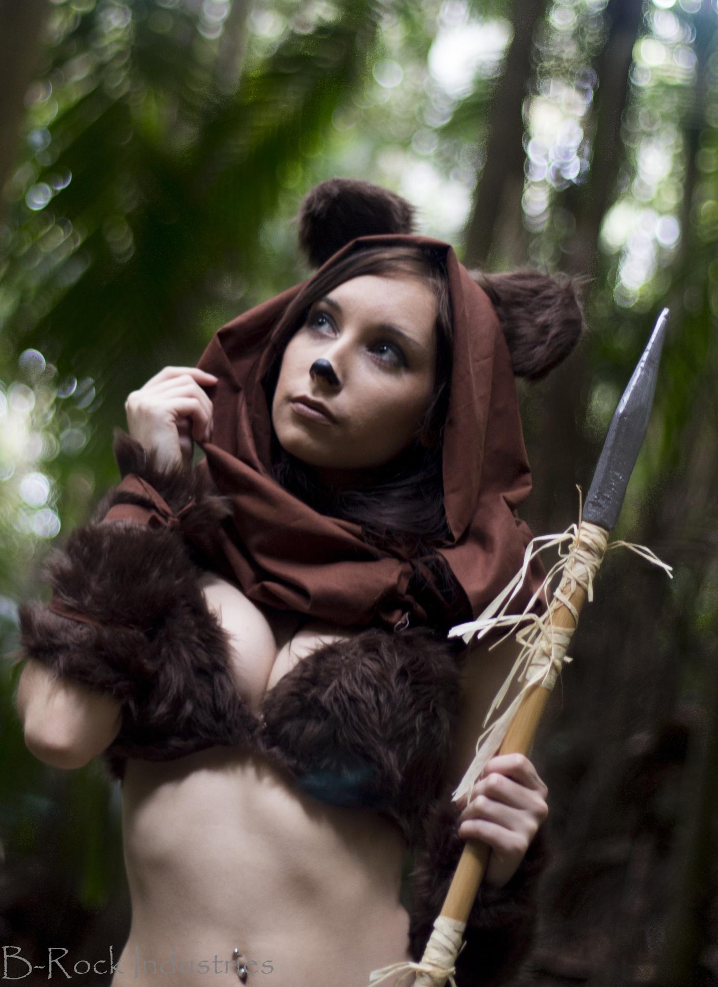 star wars ewok cosplay by hurutotheguru on deviantart