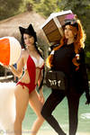 League of Legends Pool Party Cosplay