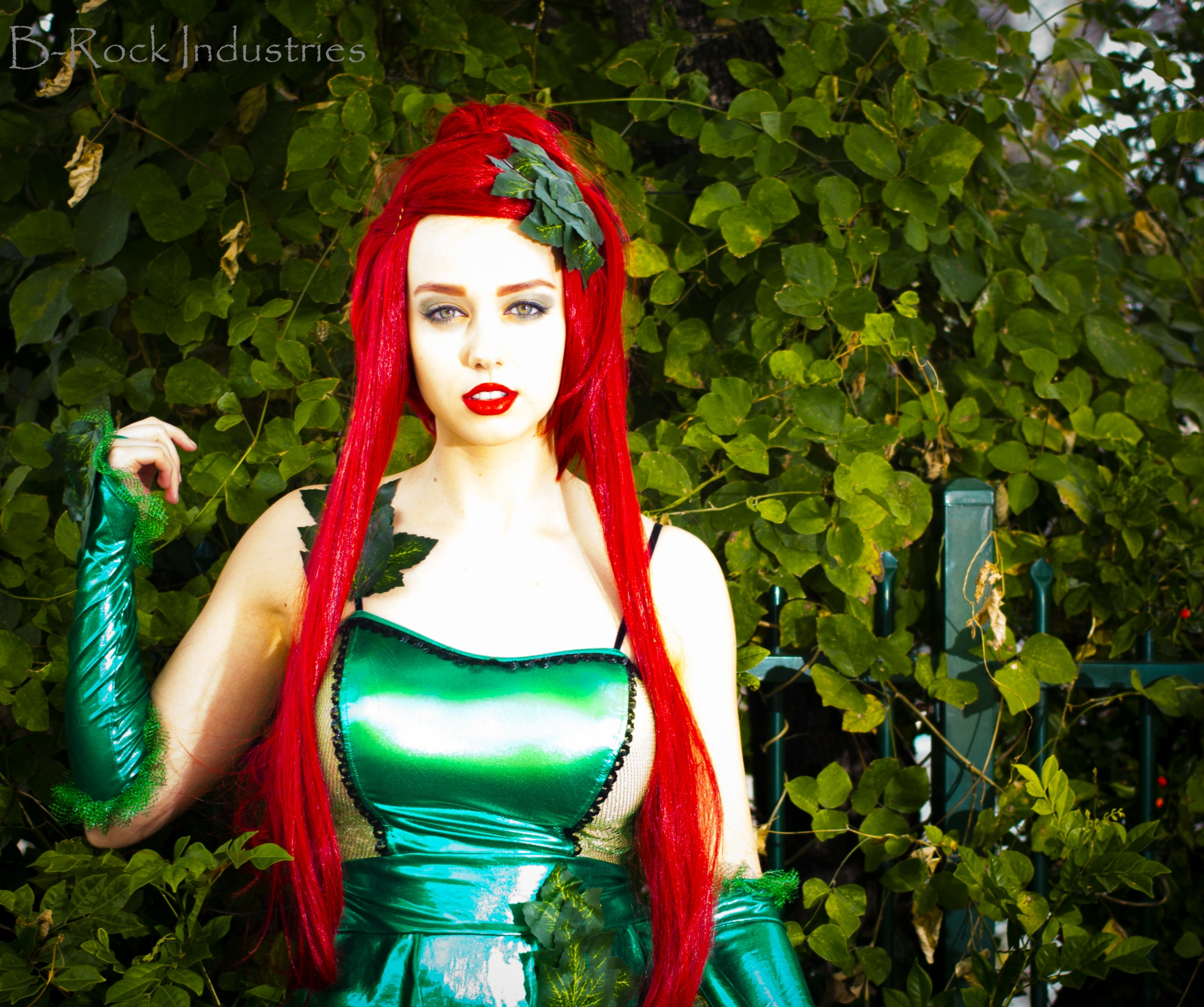 Poison Ivy Batman Comic Costume Poison Ivy Cosplay by ...