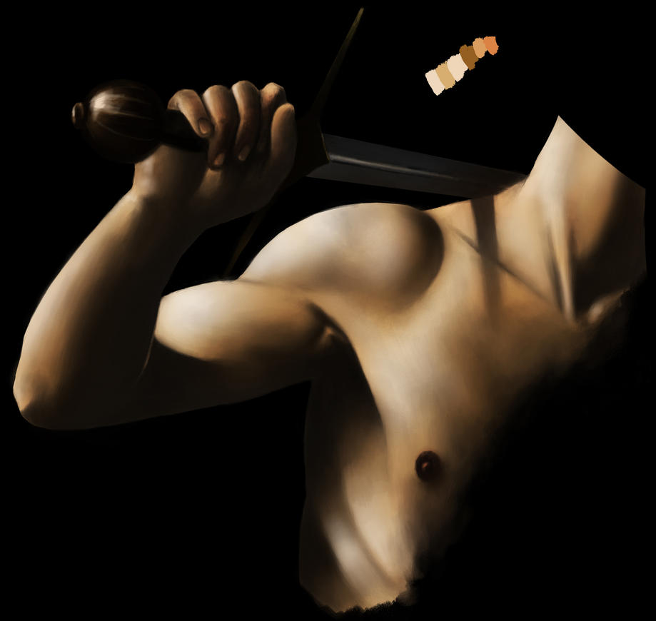Another Caravaggio Study by SethWoll