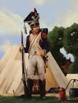 Napoleonic Polish Soldier by SethWoll