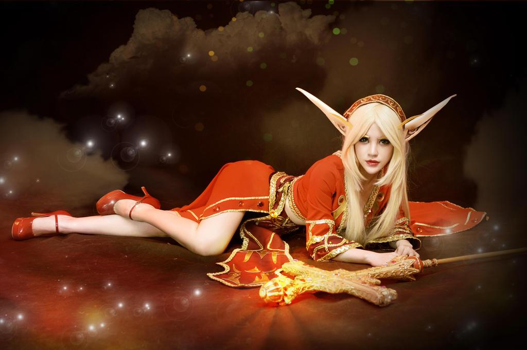 Blood Elf World of Warcraft cosplay