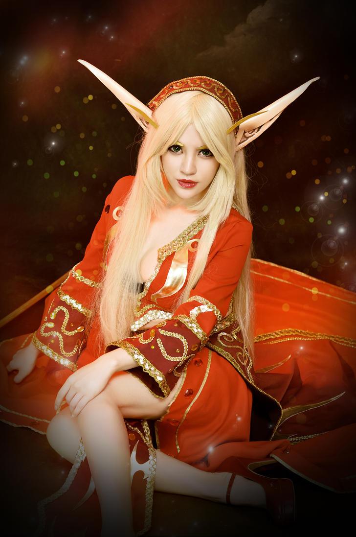Blood Elf World Of Warcraft Cosplay By Yayababy On Deviantart