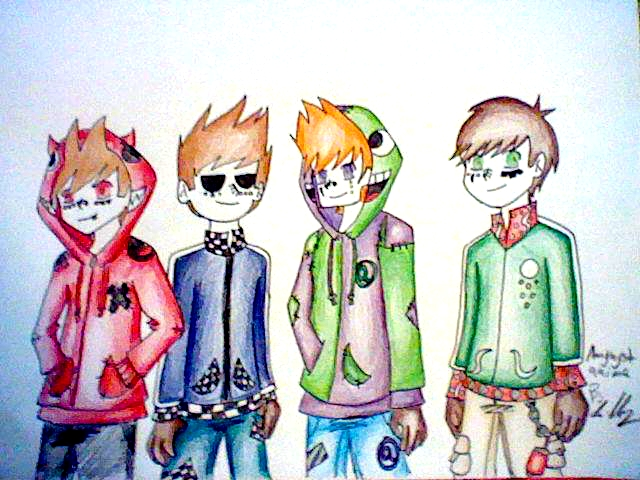 Eddsworld: Anime style by Hughesation on DeviantArt