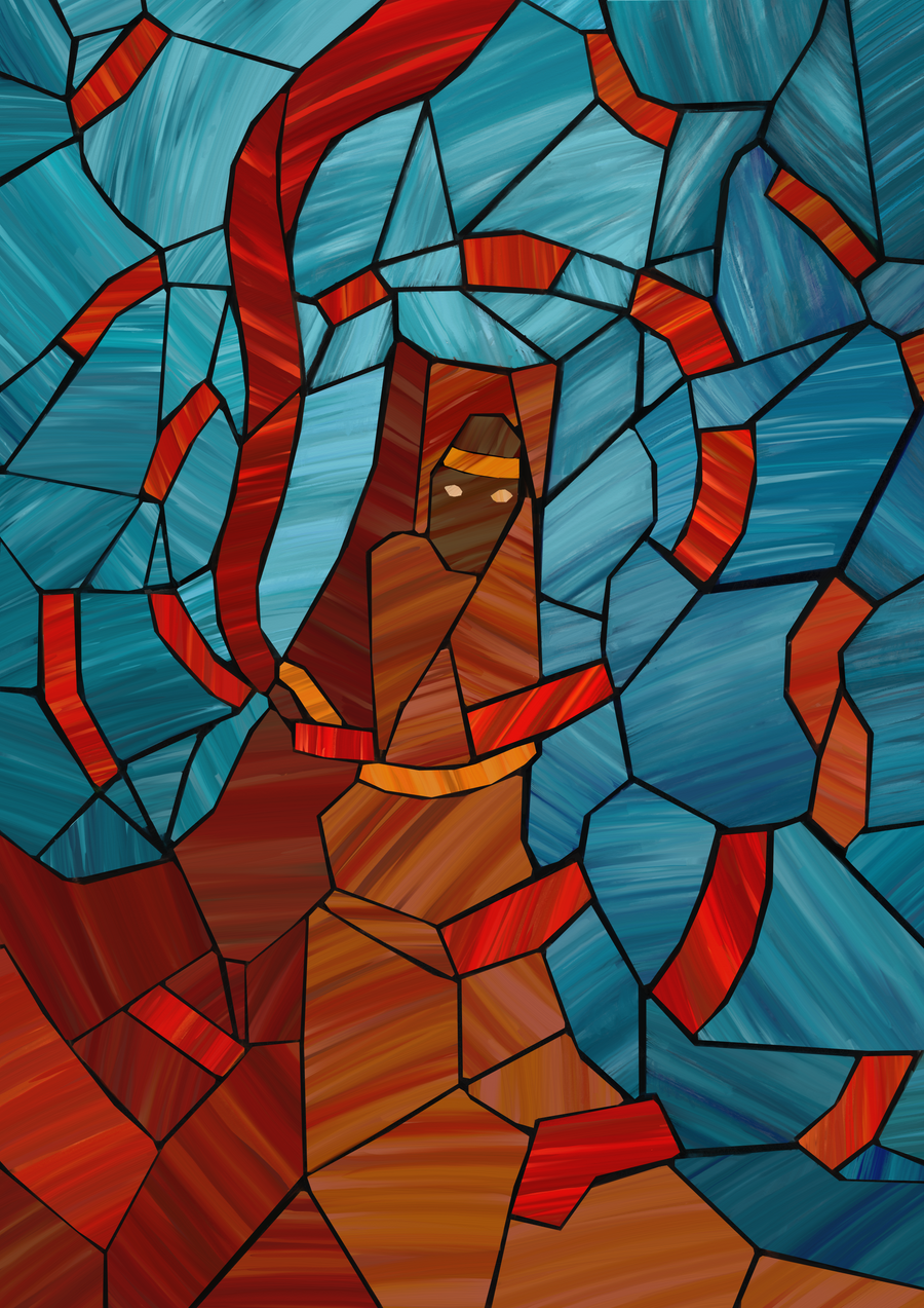 Journey Stained Glass by polian