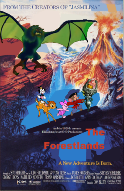 The Forsetlands The Land Before Time Poster By