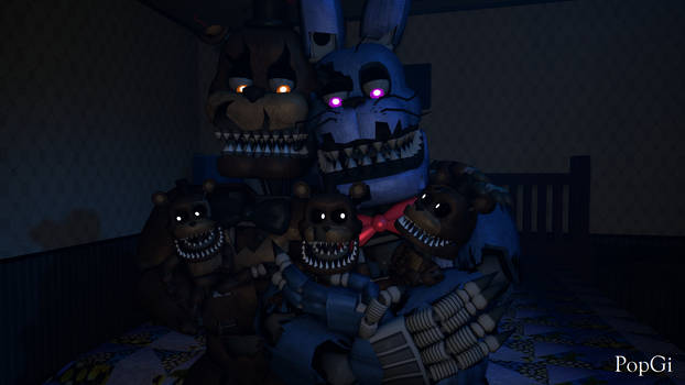 [SFM FNAF] Nightmare Fronnie (Request)