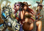 Vi and Caitlyn, Champions of Piltover