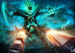 Thresh and Lucian Showdown