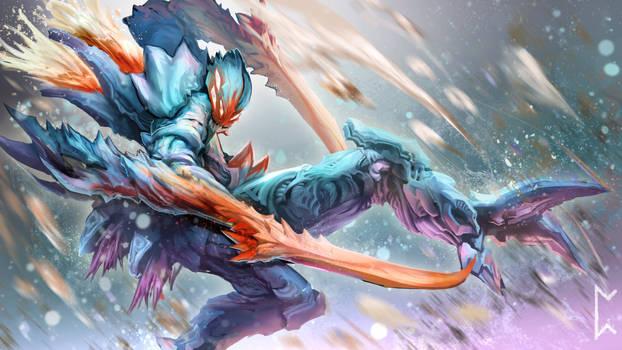 Deep Terror Kha'zix concept [League of Legends]