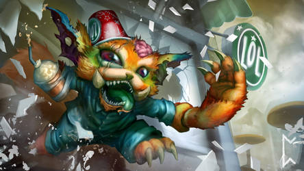 Early Mornings Gnar concept [League of Legends]